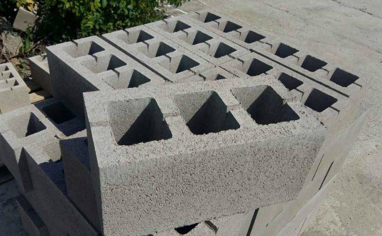 Бетонные блоки для стен